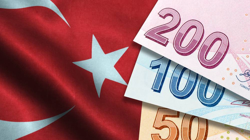 Turkish lira goes down