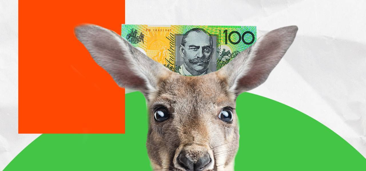 AUD jumped after job data
